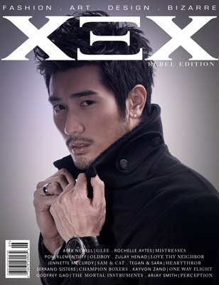 XEX Magazine: Rebel Edition - Godfrey Gao