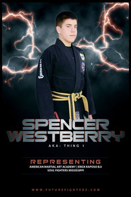 Spencer Westberry Lightning Poster