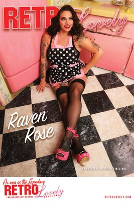 Raven Rose Cover Poster