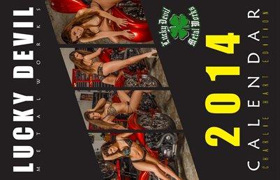 Lucky Devil Metalworks 2014 Calendar