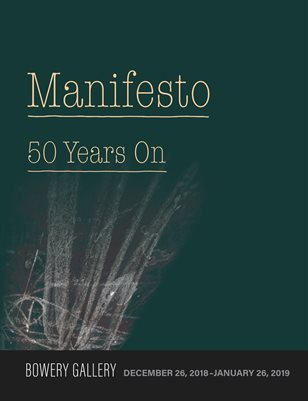 Manifesto: Fifty Years On