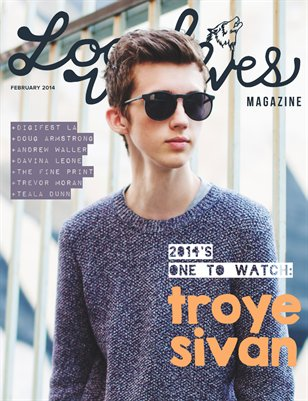 LOCAL WOLVES // ISSUE 12 - TROYE SIVAN