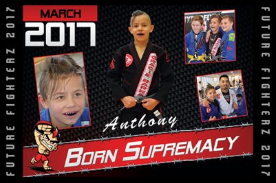 "Anthony ""Born Supremacy"" Cal Poster 2017"