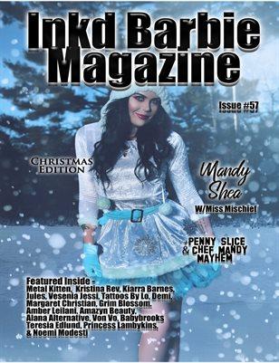 Inkd Barbie - #57 - Christmas - Mandy Shea