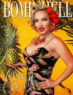 BOMBSHELL Magazine July 2020 - Cece Corvette Cover