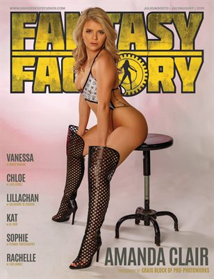 FANTASY FACTORY MAGAZINE  JULY - AUGUST 2019