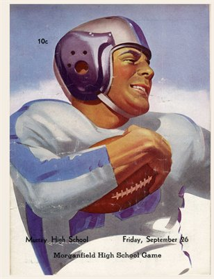 1947 Sept 26., Murray High School vs. Morganfield High School Game