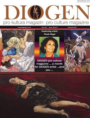 DIOGEN pro art magazine No 73...February 2017