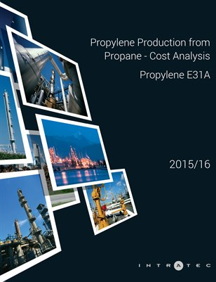 Propylene Production from Propane - Cost Analysis - Propylene E31A
