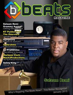 Beats Magazine Jan 2013