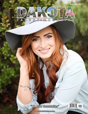 Dakota Talent Magazine Septenber 2017 Edition