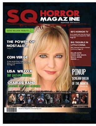 SQ Horror Magazine #3 Aug/Sept