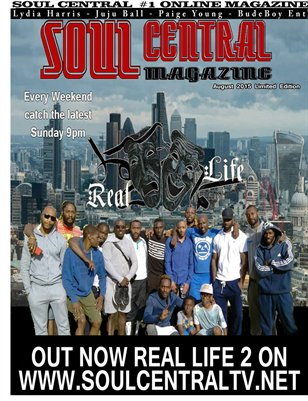 Soul Central Magazine August Edition 2015 Limited Edition
