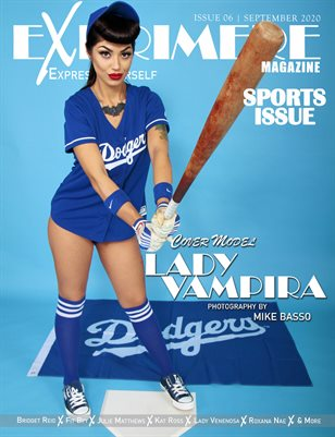 Exprimere Magazine Issue 006 Sports Issue Ft Lady Vampria