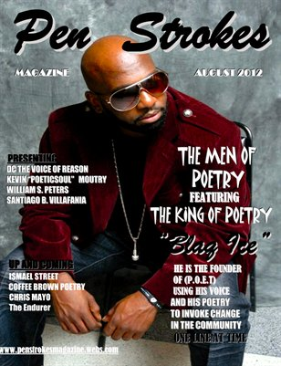 PEN STROKES MAGAZINE MEN OF POETRY EDITION