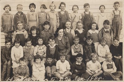 1934 Hickory School, Graves County, Kentucky