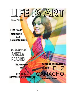 Life is Art Magazine  11th Edition