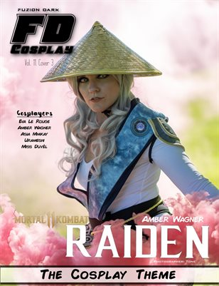 Fuzion Dark Amber Wagner Cosplay VOL 11 Cover 3