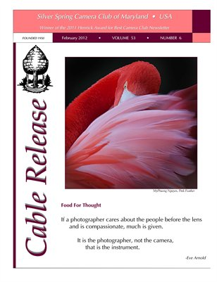 February 2012 Cable Release, Vol. 53, No. 6