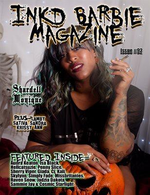 Inkd Barbie Magazine Issue #92 - Shardell Monique