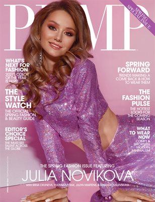 PUMP Magazine The Fashion Pulse Edition Vol.1 March 2021