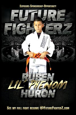 "Ruben ""Lil' Phenom"" Huron Arena Poster"