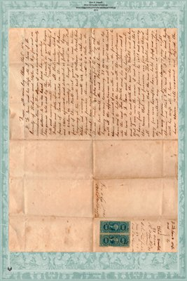 1868 Deed Sane & Veatch, Hickman-Fulton County