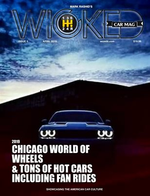 WICKED CAR MAGAZINE - APRIL ISSUE - TRI CHALLENGER