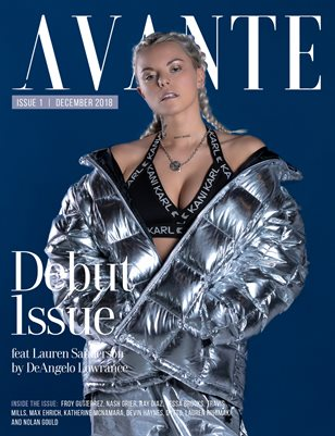 Avante Debut Issue: Lauren Sanderson Cover