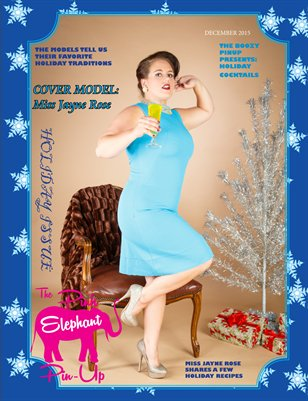 The Pink Elephant Pinup Magazine Holiday Issue
