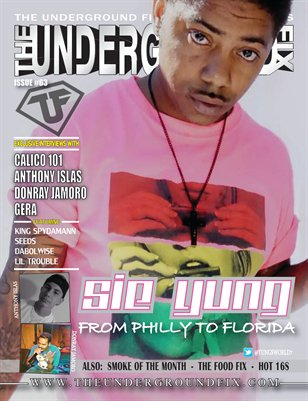 The Underground Fix Magazine Issue #63