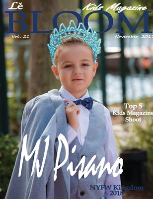 Le Bloom Kids Magazine MJ Pisano