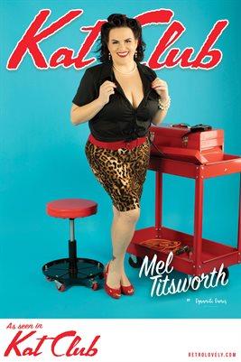 Kat Club No.30 – Mel Titsworth Cover Poster