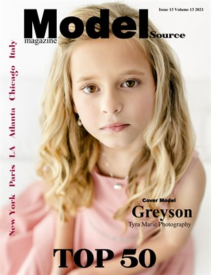 Model Source Magazine Issue 13 Volume 13 Face of September Top 50