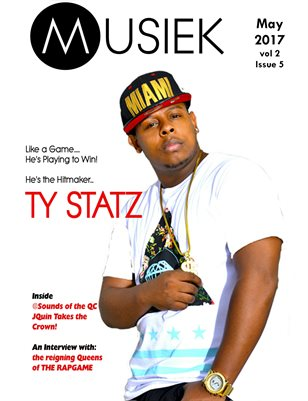 Musiek Magazine May Issue Featuring Ty Statz!