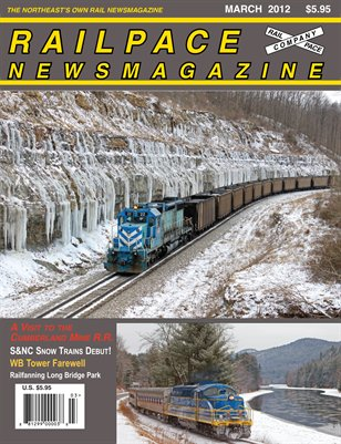 MARCH 2012 Railpace Newsmagazine