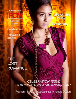 "Fashion Couture Magazine ""Celebration Issue"" Vol. 1 Issue#3"