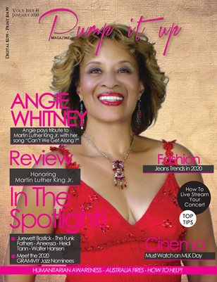 Pump it up Magazine - Angie Whitney - Vol.5 - Issue #1
