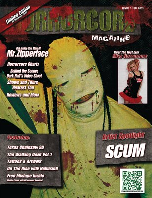 Horrorcore Magazine - Issue 1 - Limited Edition