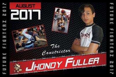 Jhondy Fuller Cal Poster 2017