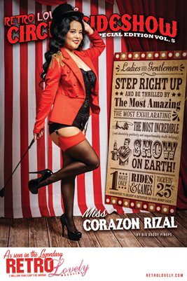 Circus & Sideshow 2021 Vol.5 – Miss Corazon Rizal Cover Poster