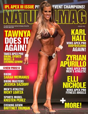 Natural Magazine International Issue #55 - Cover: Tawnya Cline