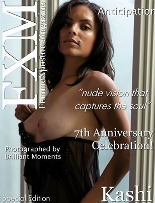 FemmeXposure® Magazine 7th Anniversary Issue #81 Cover Model, Kashi