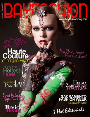BAYFashion February 2012 - HOTTEST HUES of WINTER Issue