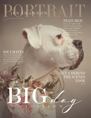Jen Shannon Portrait Magazine Big Dog Edition Final 2017