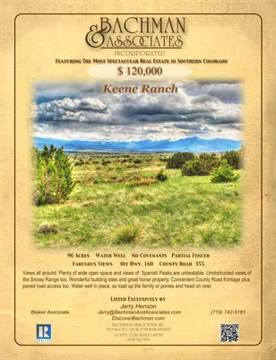 Keene Ranch 2 Page Brochure