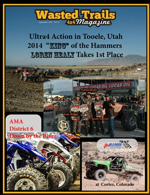 Free Download - $1 off reg. print price --Wasted Trails 4x4 Magazine September 2014 vol 16