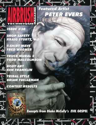 Airbrush Technique Magazine Issue #30