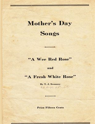 Mothers Day Songs By T. J. Swanzey