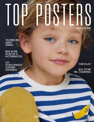 TOP POSTERS MAGAZINE- KIDS APRIL (vol 265)